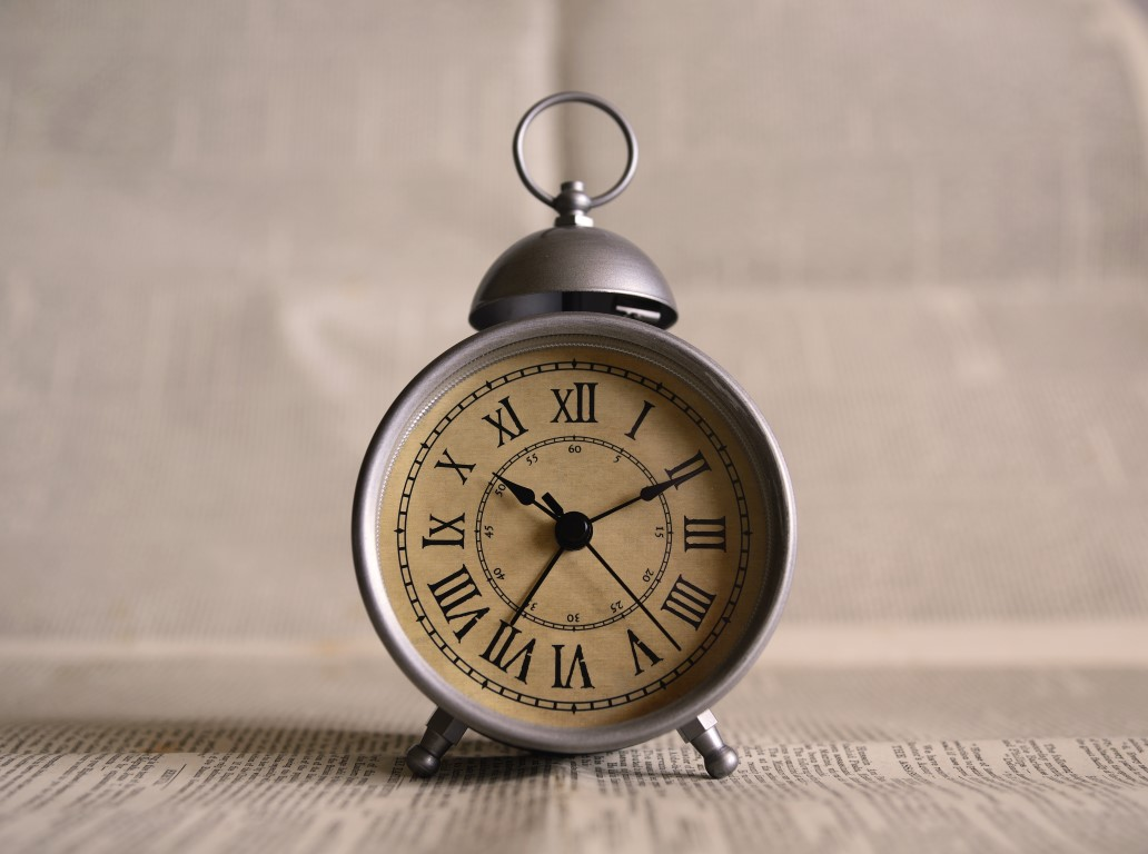 Somos os mestres do tempo