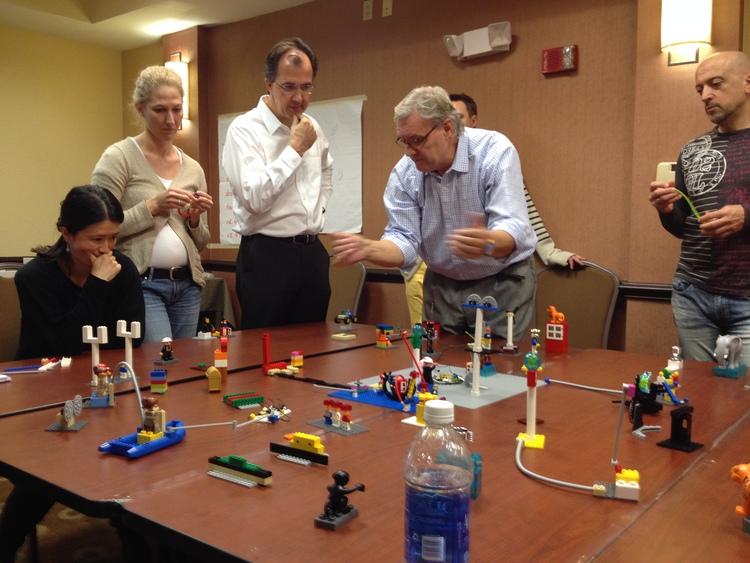 Usando Lego para melhorar sua comunicação
